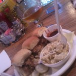 pork sliders with potato salad
